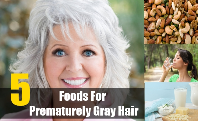 Foods For Prematurely Gray Hair