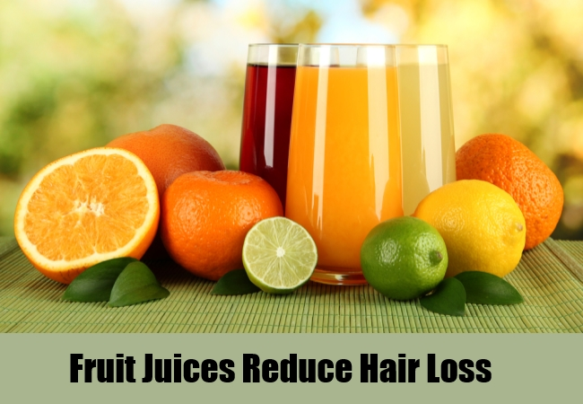 Fruit Juices Reduce Hair Loss