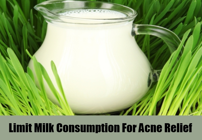 Limit Milk Consumption For Acne Relief