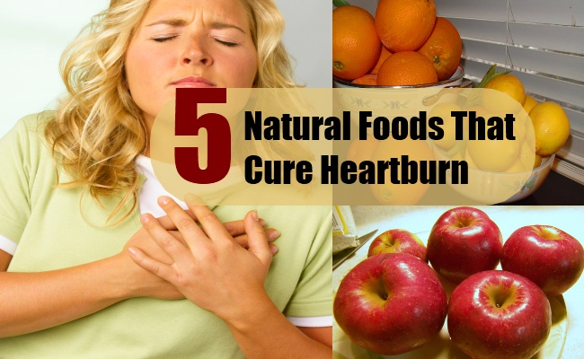 Natural Foods That Cure Heartburn