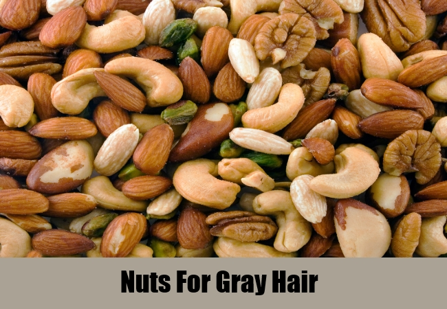 Nuts For Gray Hair