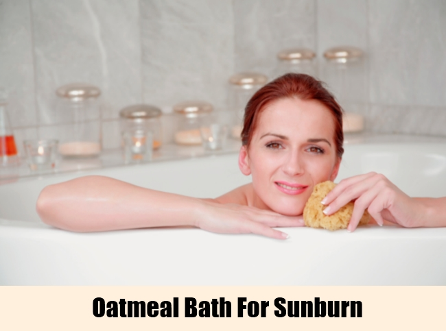 Oatmeal Bath For Sunburn