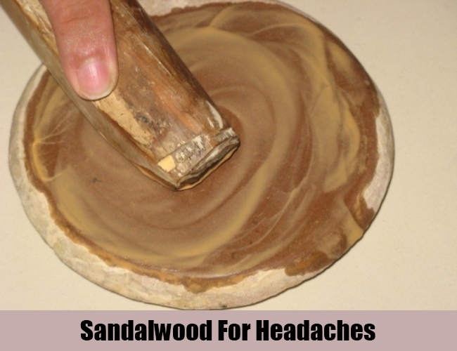 Sandalwood For Headaches