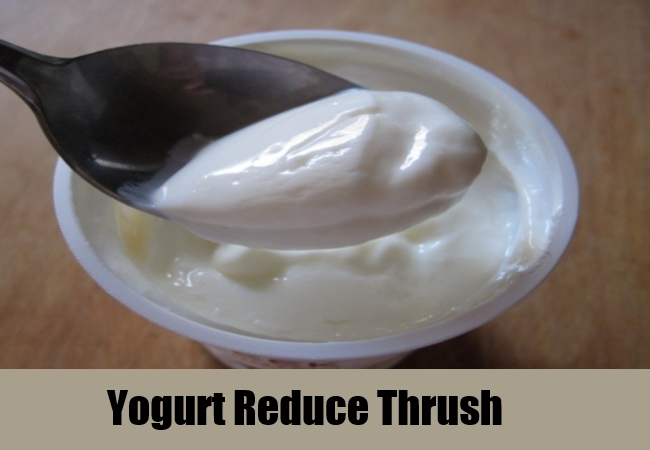 Yogurt Reduce Thrush