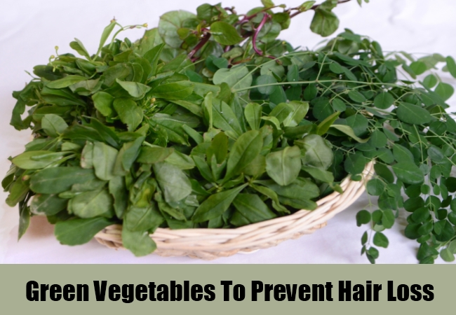 Green Vegetables To Prevent Hair Loss