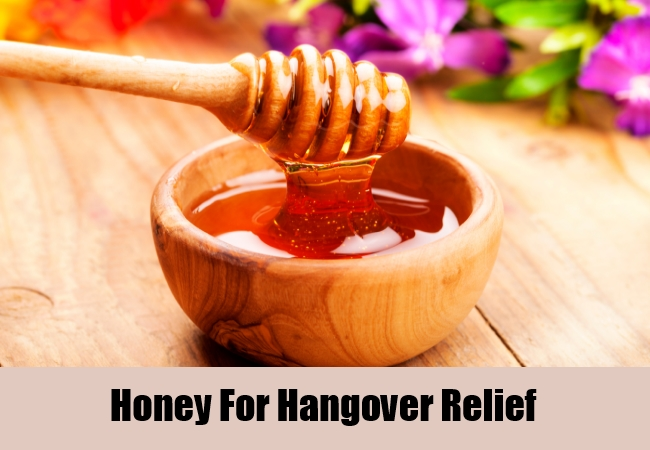 Honey For Hangover Relief