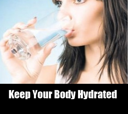 Keep Your Body Hydrated