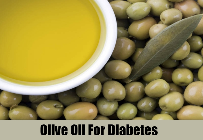 Olive Oil For Diabetes