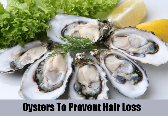 Oysters To Prevent Hair Loss