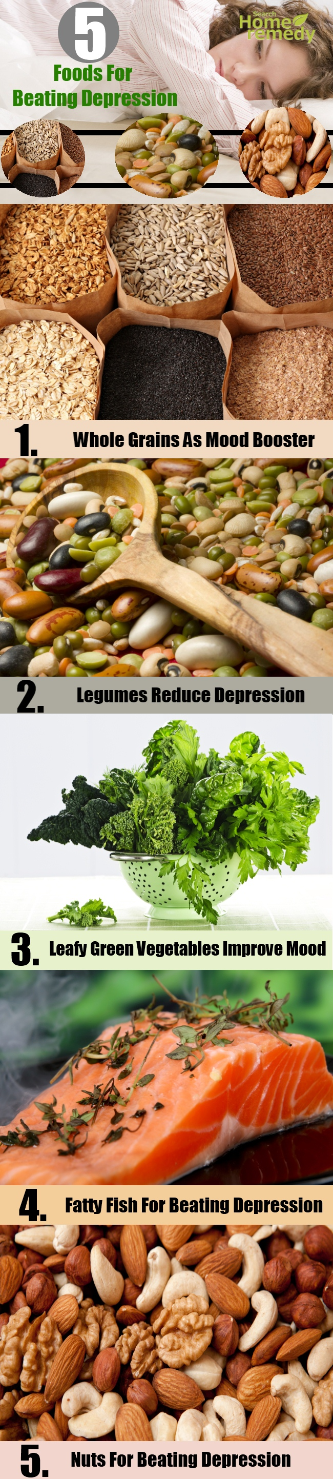 Top 5 Foods For Beating Depression