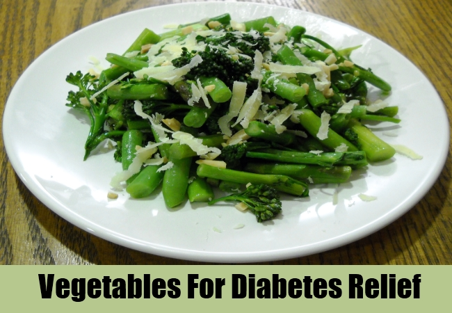 Vegetables For Diabetes Relief