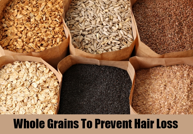 Whole Grains To Prevent Hair Loss
