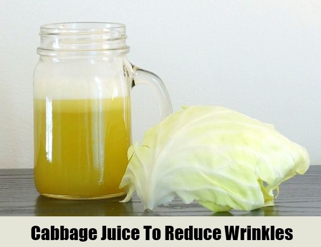 Cabbage Juice To Reduce Wrinkles