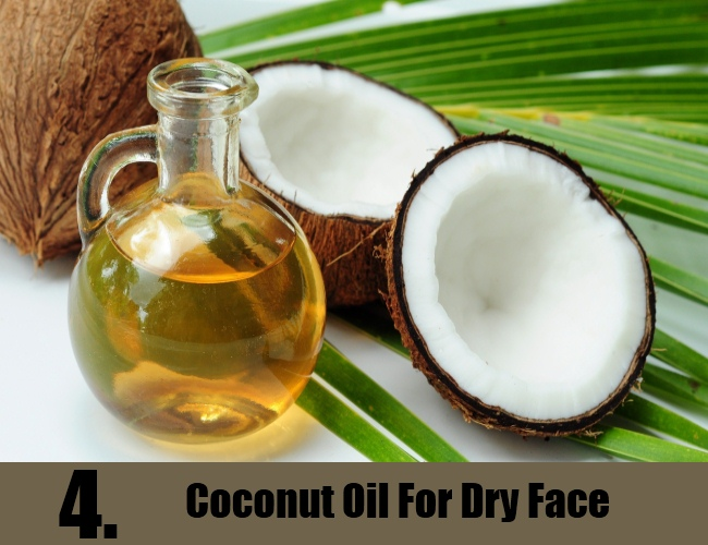 Coconut Oil For Dry Face