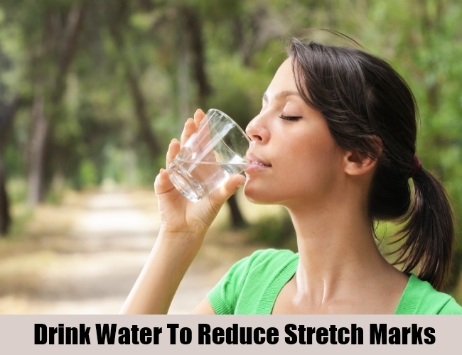 Drink Water To Reduce Stretch Marks