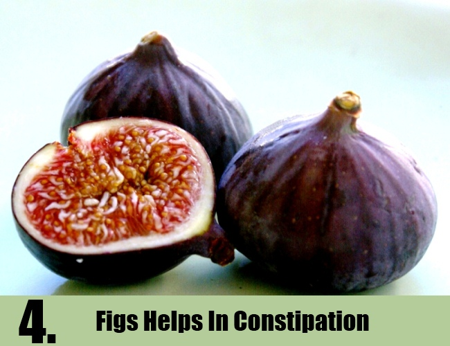 Figs Helps In Constipation