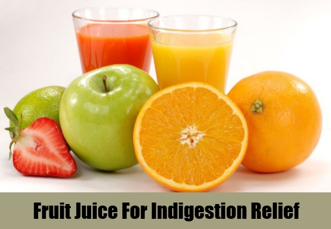 Fruit Juice For Indigestion Relief