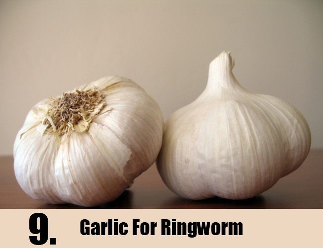 Garlic For Ringworm