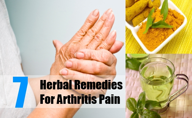 Herbal Remedies for Arthritis Pain