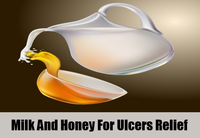 Milk And Honey For Ulcers Relief