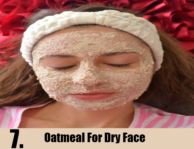 Oatmeal For Dry Face