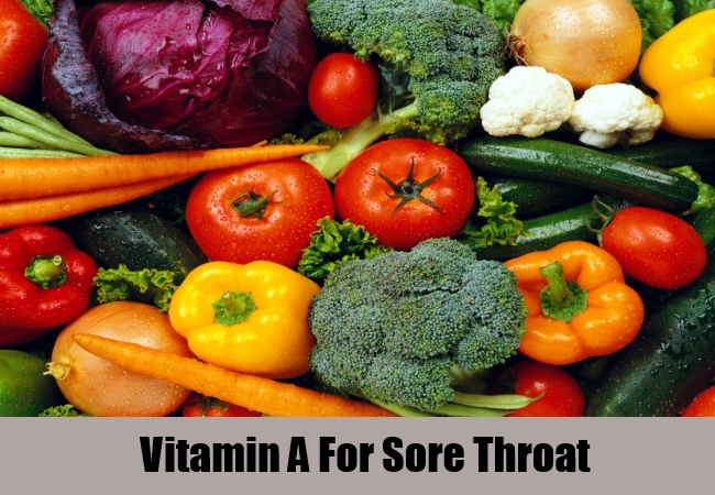 Vitamin A For Sore Throat