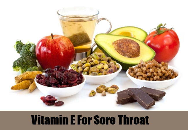 Vitamin E For Sore Throat