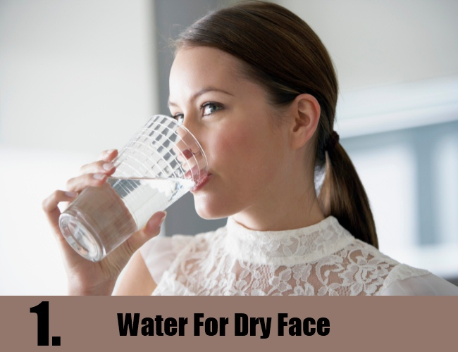 Water For Dry Face