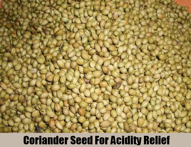 Coriander Seed For Acidity Relief