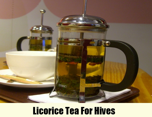 Licorice Tea For Hives