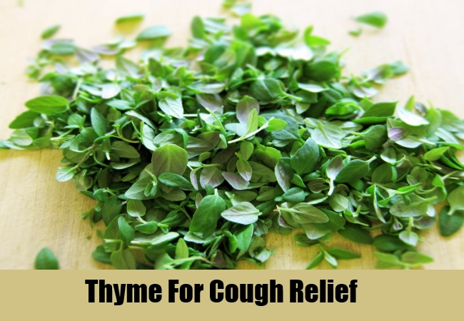 Thyme For Cough Relief