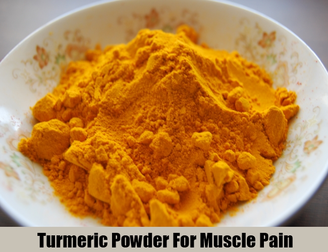 Turmeric Powder For Muscle Pain
