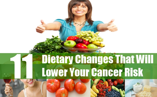 Dietary Changes That Will Lower Your Cancer Risk