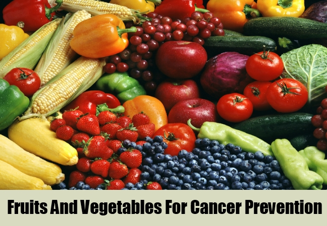 Fresh Fruits And Vegetables For Cancer Prevention