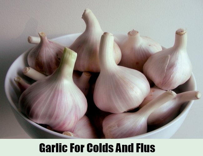 Garlic For Colds And Flus