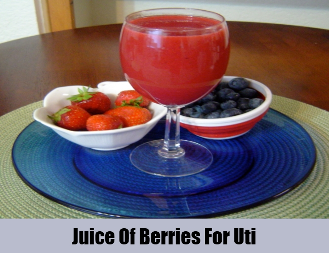 Juice Of Berries For Uti