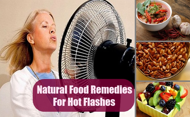 Natural Food Remedies For Hot Flashes