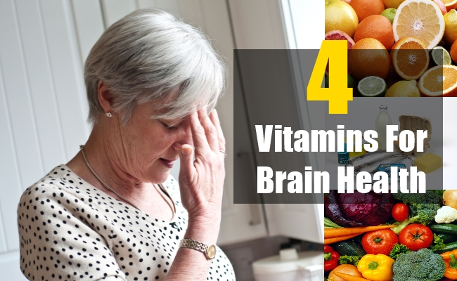 Vitamins for Brain Health