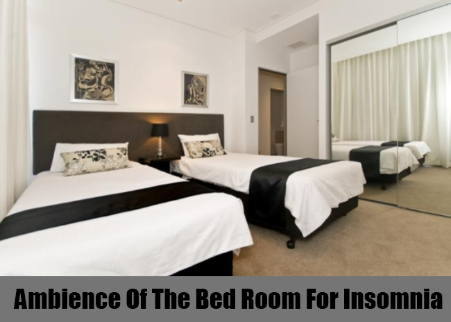 Ambience Of The Bed Room For Insomnia