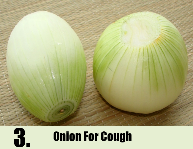 Onion For Cough