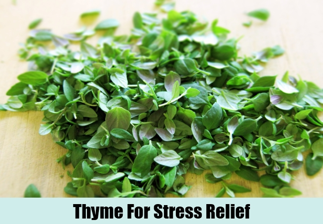 Thyme For Stress Relief