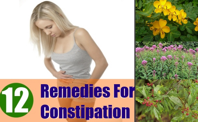 12 Best Herbal Remedies For Constipation