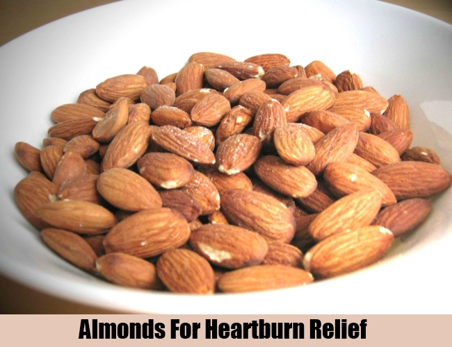 Almonds For Heartburn Relief