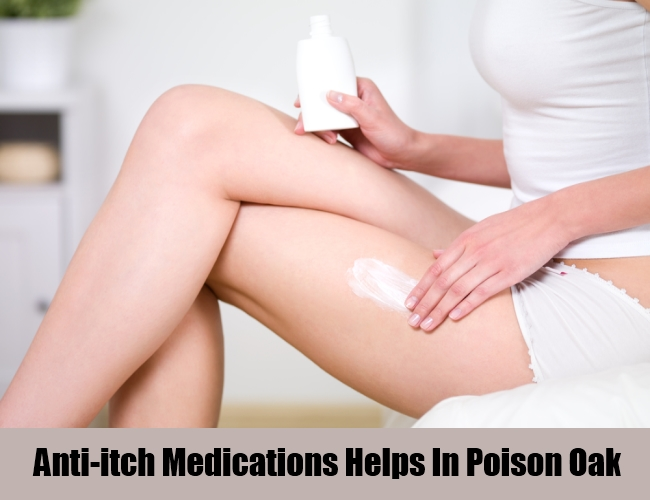 Anti-itch Medications Helps In Poison Oak