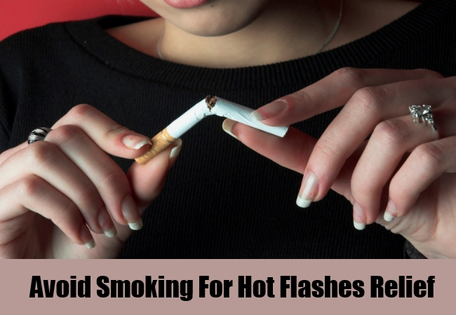 Avoid Smoking For Hot Flashes Relief