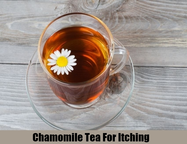 Chamomile Tea For Itching