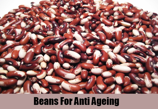 Beans For Anti Ageing