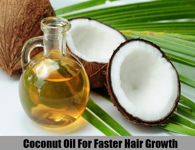 Coconut Oil For Faster Hair Growth