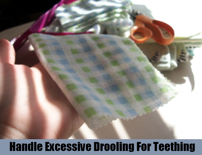 Handle Excessive Drooling For Teething