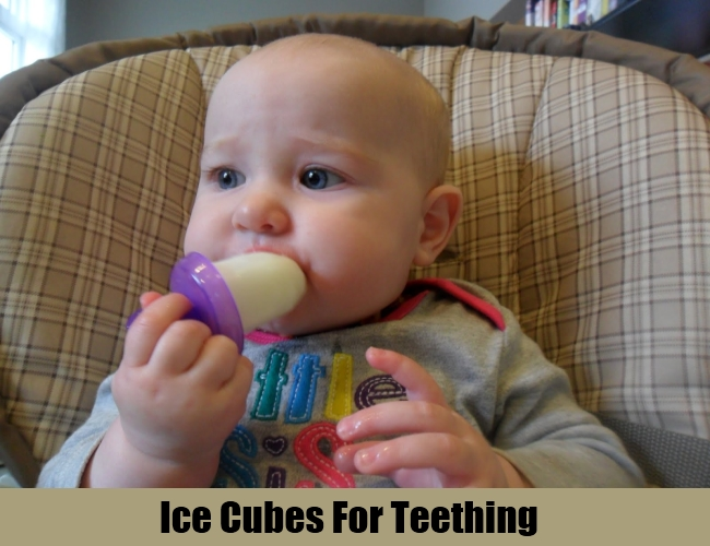 Ice Cubes For Teething